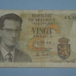 België - 20 frank 1964