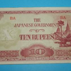 Birma - 10 rupees 1942
