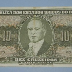 Brazilië - 10 cruzeiros 1959