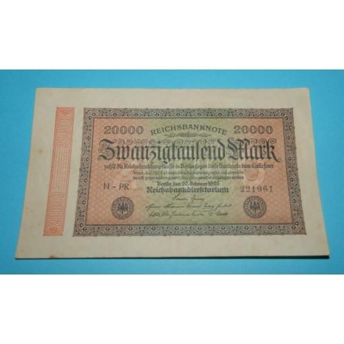 Duitsland - RM20.000 - 1923