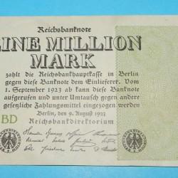 Duitsland - miljoen mark - 1923
