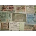 Bankbiljetten Duitsland