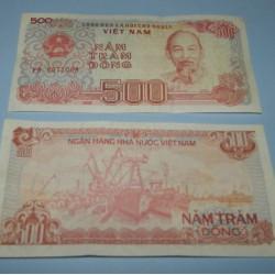 Vietnam - 500 dong 1988 - Unc