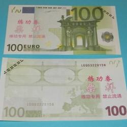Oefenbiljet - 100 Euro