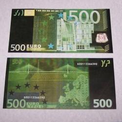 Zwart geld - 500 Euro biljet
