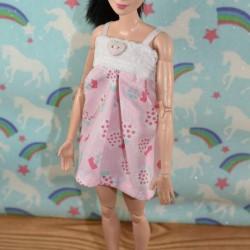 Babydoll voor Barbie etc. - knippatroon