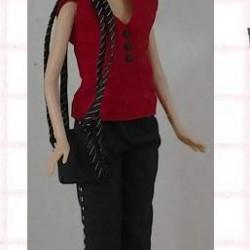 Zomergarderobe voor Barbie etc. - knippatroon