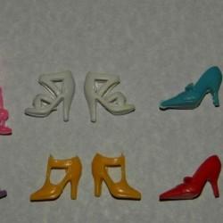 6 Paar schoenen voor Barbie etc. - set BE