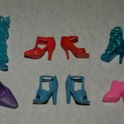 6 Paar schoenen voor Barbie etc. - set BZ