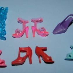 6 Paar schoenen voor Barbie etc. - set CE