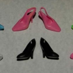 6 Paar schoenen voor Barbie etc. - set CK