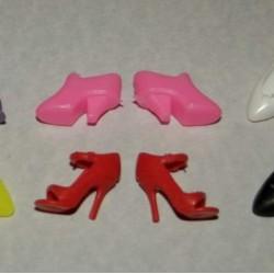 6 Paar schoenen voor Barbie etc. - set CM