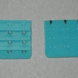 Hemelsblauwe beha verlenger - 3 haakjes