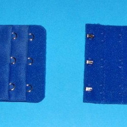 Koningsblauwe beha verlenger, 3 haakjes