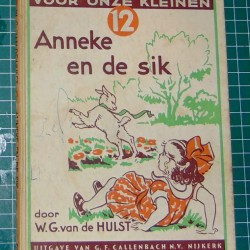 Anneke en de sik - W.G. van de Hulst - 7e druk