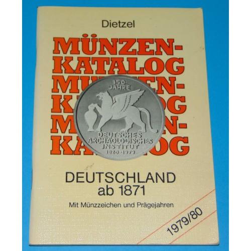 Catalogus Duitse munten 1979/80
