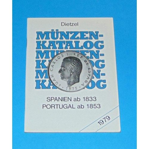 Catalogus munten Spanje en Portugal - 1979