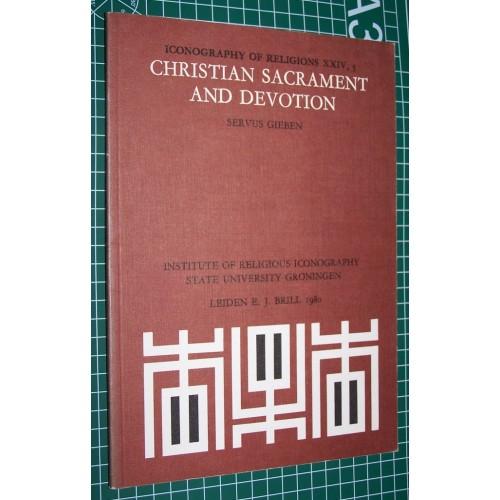 Christian sacrament and devotion - Servus Gieben