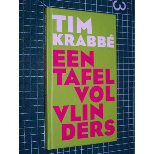 Een tafel vol vlinders - Tim Krabbé