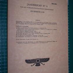 Ex Oriente Lux - Jaarbericht 13 - 1953-'54