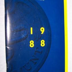 Jaarverslag 's Rijks Munt 1988