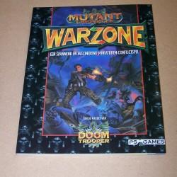 Mutant Chronicles Warzone spelregel boek