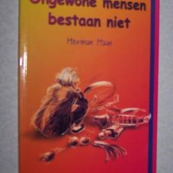 Ongewone mensen bestaan niet - Herman Haan - gesigneerd
