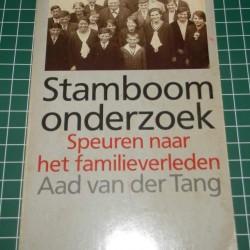 Stamboom onderzoek - A. van der Tang