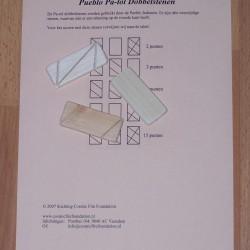 Pa-tol dobbelstenen van de Pueblo Indianen