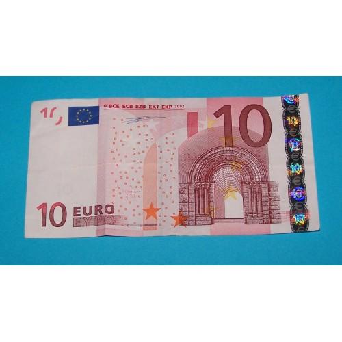 10 Euro donatie