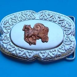 Huifkar buckle, Western stijl