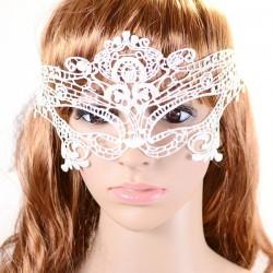 Sexy wit kanten masker, model A