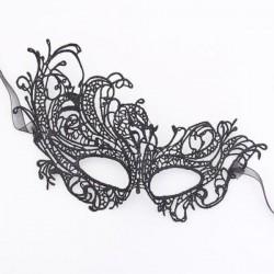 Sexy zwart kanten masker, model H