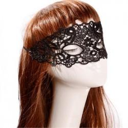 Sexy zwart kanten masker, model K