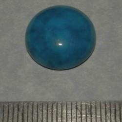 Blauwe Kant Agaat cabochon CKI - 15,7mm