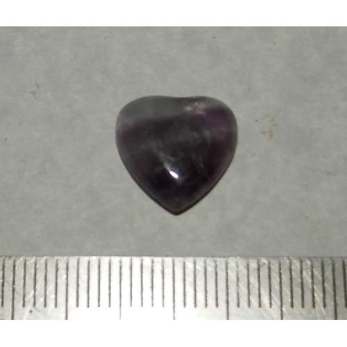 Amethist hart cabochon CG - 12x12mm