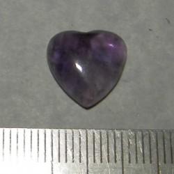 Amethist hart cabochon CH - 12x12mm