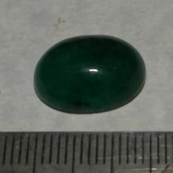 Smaragd cabochon CAN - 15,5x11mm
