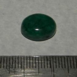 Smaragd cabochon CAZ - 14x11mm