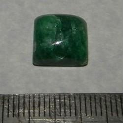 Smaragd cabochon CBA - 11,5x11mm