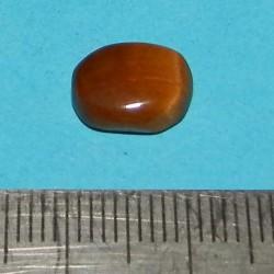 Tijgeroog cabochon CBB - Brazilië - 10,8x8,5mm