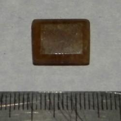 Gele Beril GF - emerald geslepen - 14x10mm - met certificaat