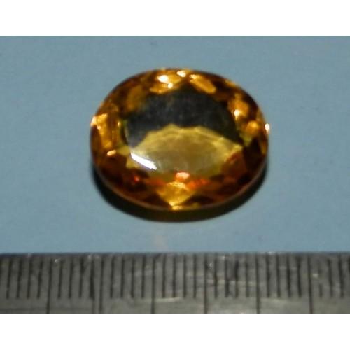 Citrien GAN - ovaal geslepen - 16,5x12,6mm