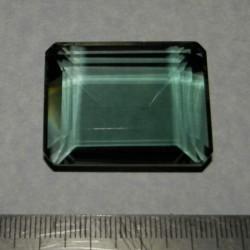 Groene Amethist AC - emerald gesl. - 35x28mm
