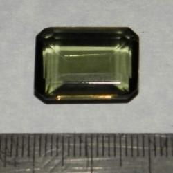 Groene Amethist AM - emerald geslepen - 19x14mm