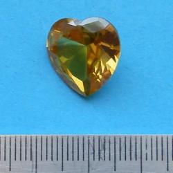 Gele Saffier SE - hart geslepen - 15x15mm