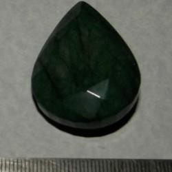 Smaragd BAB - peer geslepen - 39x28,5mm - aanbieding