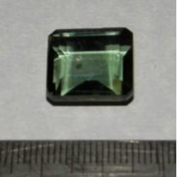 Groene Topaas GGM - emerald geslepen - 15x13,8mm