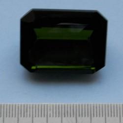 Groene Topaas GO - achthoekig - 30x22mm