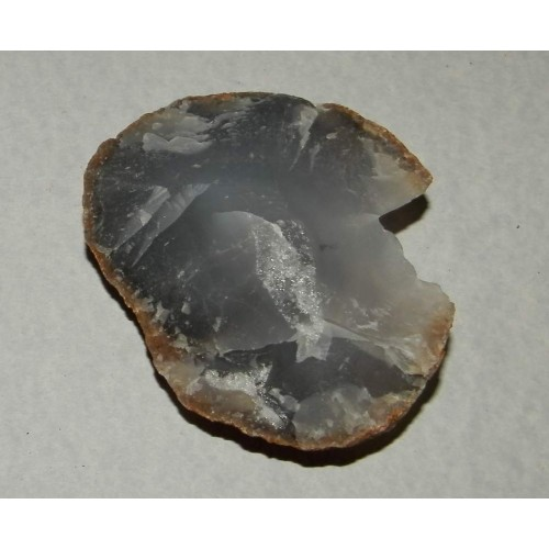 Blauwe Agaat - Auvergne - steen F